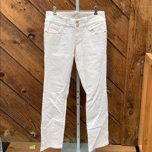 """Cabi #874 """"Lou Lou"""" Blush Pale Pink Jeans"""